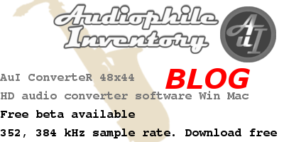 audio converter sample rate 352 and 384 kHz
